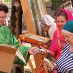 Фото 11. Престольный праздник в Серафимовском храме