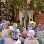 Фото 6. Престольный праздник в Серафимовском храме