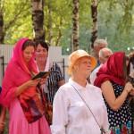 Фото 8. Престольный праздник в Серафимовском храме