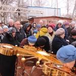Фото 11. Освящение креста в Серафимовском храме г. Хотьково