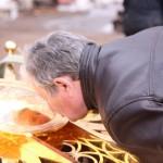 Фото 13. Освящение креста в Серафимовском храме г. Хотьково