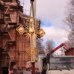 Фото 15. Освящение креста в Серафимовском храме г. Хотьково