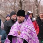 Фото 3. Освящение креста в Серафимовском храме г. Хотьково