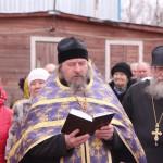 Фото 4. Освящение креста в Серафимовском храме г. Хотьково