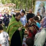 Фото 3. Престольный праздник в Серафимовском храме города Хотьково